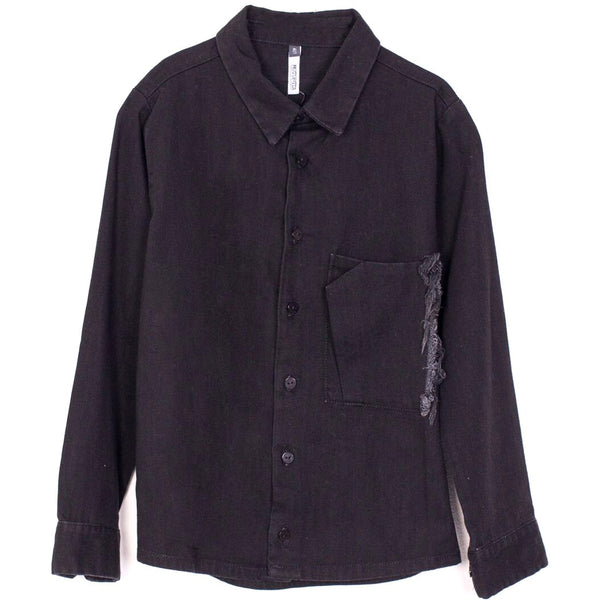 motoreta cordoba shirt black denim - kodomo