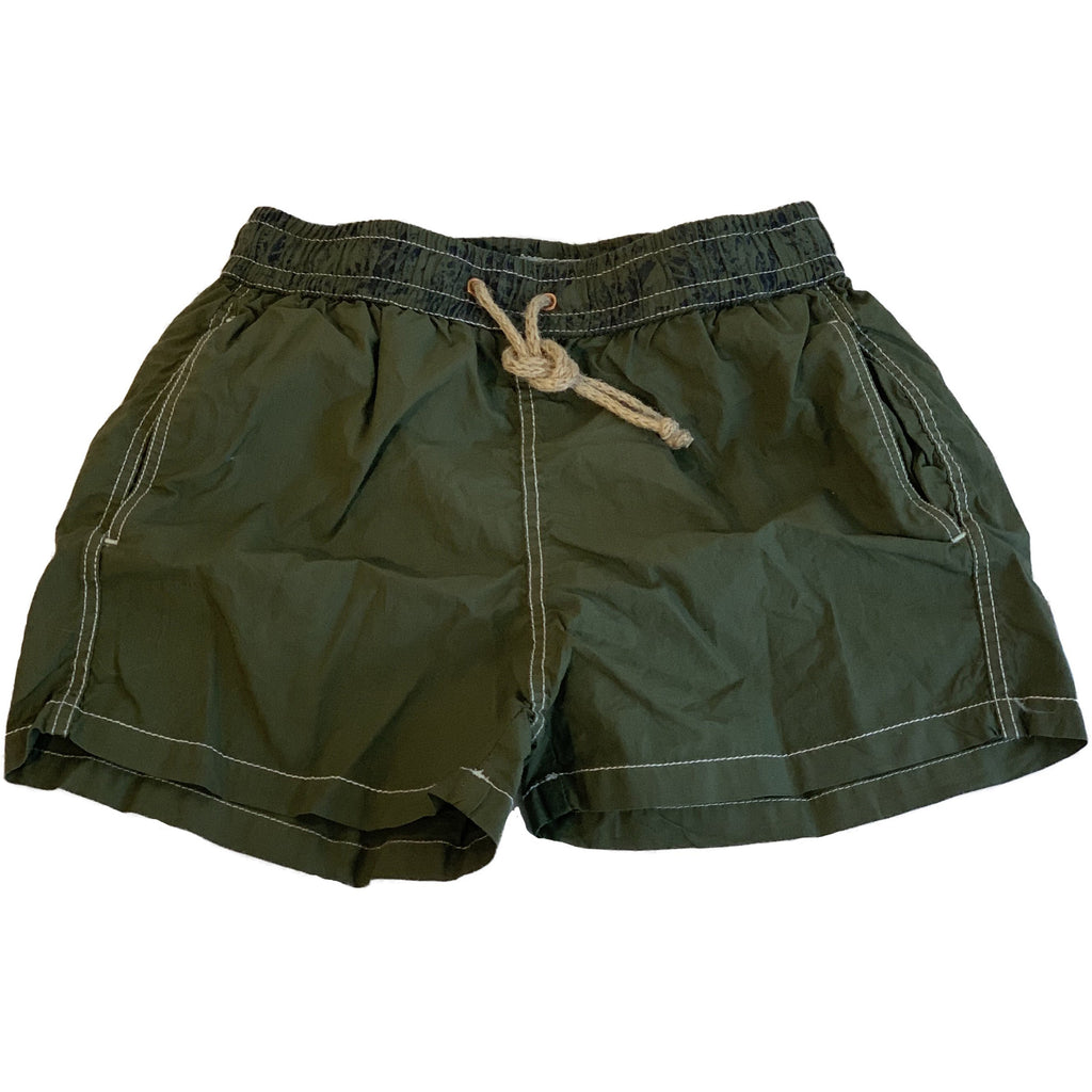 nupkeet murena swim trunks green