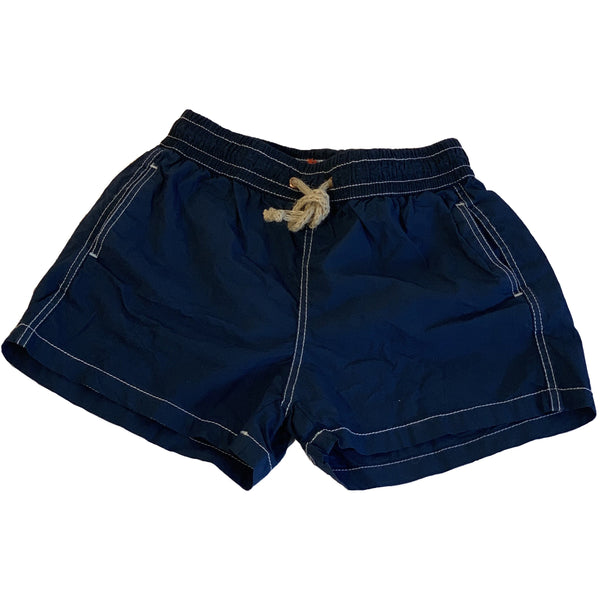 nupkeet cernia navy blue swim trunks