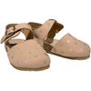 pèpè nubuck polaris nude sandals