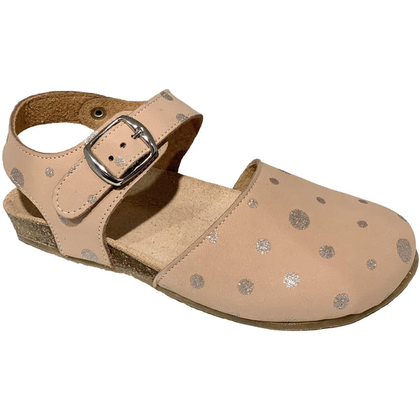 pèpè new spring summer baby and girls collection nubuck polaris nude sandals - free fast shipping on all orders over $99 from kodomo