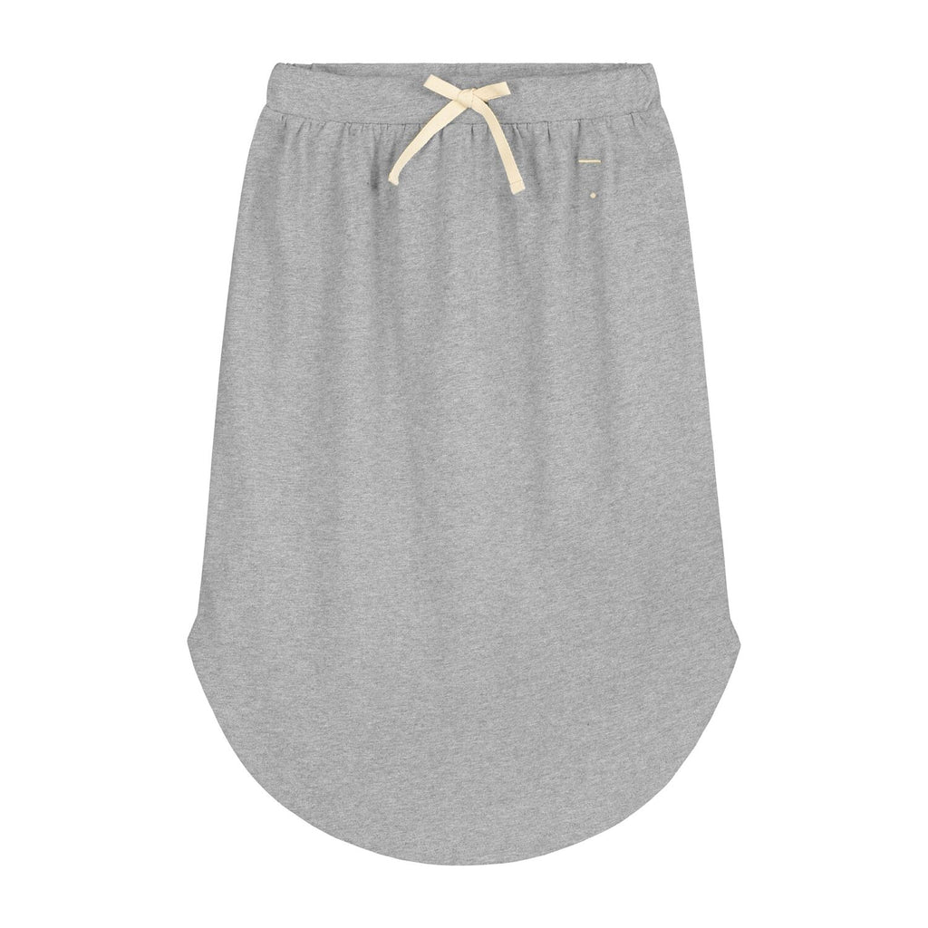 gray label new spring summer girls collection long moon skirt in grey melange - free fast shipping on all orders over $99 from kodomo