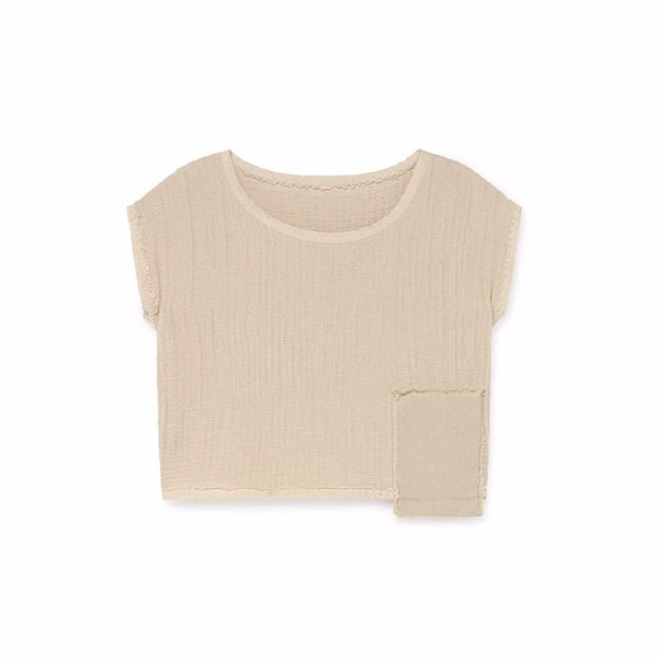 little creative factory oversize crop top, cool kids clothes available at kodomo boston.