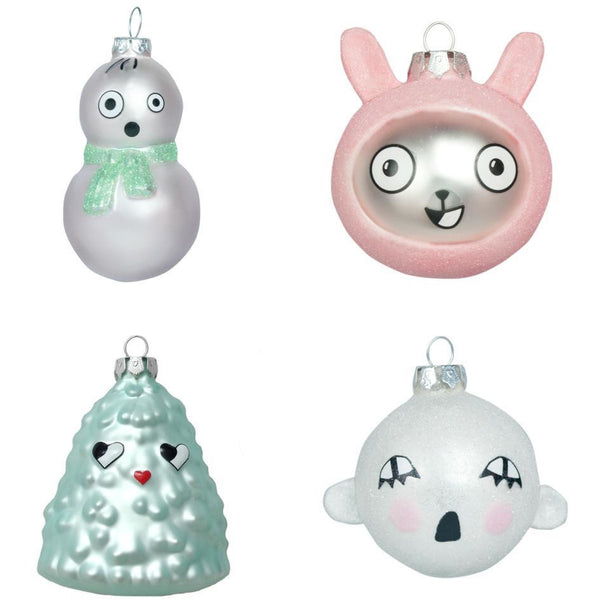 luckyboysunday ornaments - kodomo boston. free shipping.