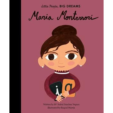maria montessori (little people, big dreams), free shipping kodomo boston