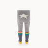 the bonnie mob molly rainbow star tights grey