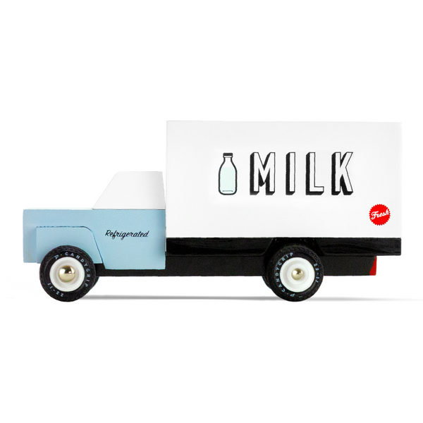 candylab milk truck, kid's toy vehicles