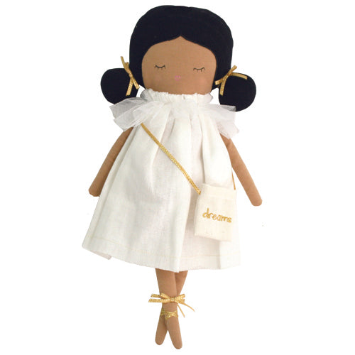 alimrose emily dreams doll ivory, kid's plush dolls