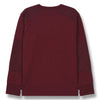 finger in the nose nico jersey tee-shirt burgundy