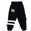 nununu cargo sweatpants black