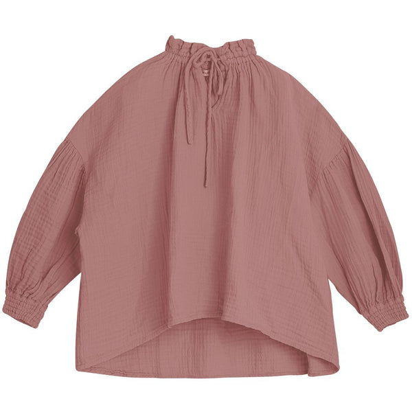the new society olivia blouse rose taupe, classic top styles for girls, new kids fashion collections at kodomo boston, fast free shipping