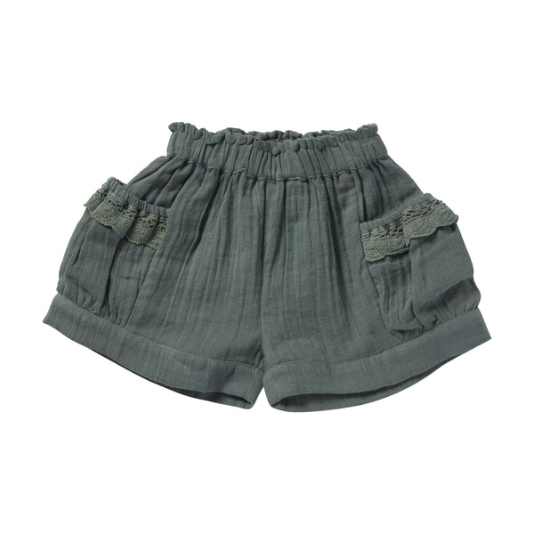 bonheur du jour orphee shorts cypress, girls summer shorts at kodomo boston free shipping