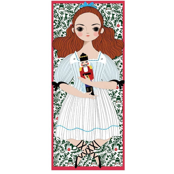 of unusual kind clara mailable paper doll - kodomo boston