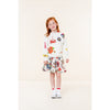 oilily sirene skirt white,  new spring summer 2020 girls and tweens skirts and dresses from kodomo boston, free shipping