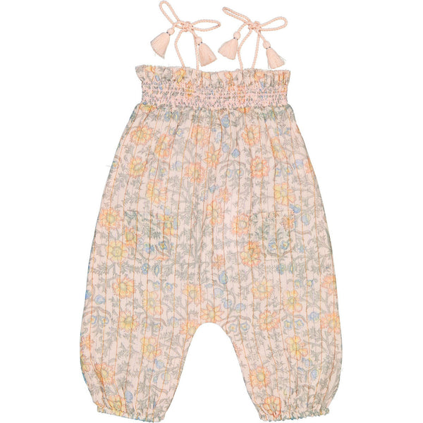 louis louise baby overall cassis light pink