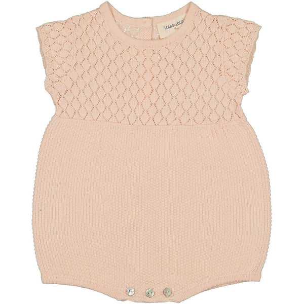 louis louise suzie baby overall light pink, baby gift ideas at kodomo boston