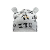 the bonnie mob panda baby beanie grey, organic cotton baby clothing and gifts from kodomo boston. free shipping over $99
