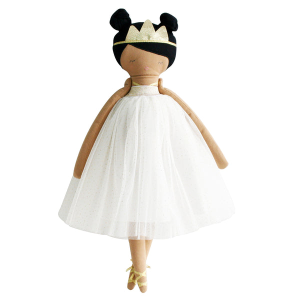 alimrose pandora princess doll ivory gold, soft dolls and toys free shipping kodomo boston