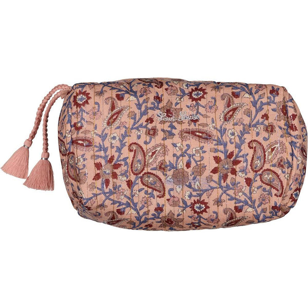 louis louise floral toiletries pouch pink