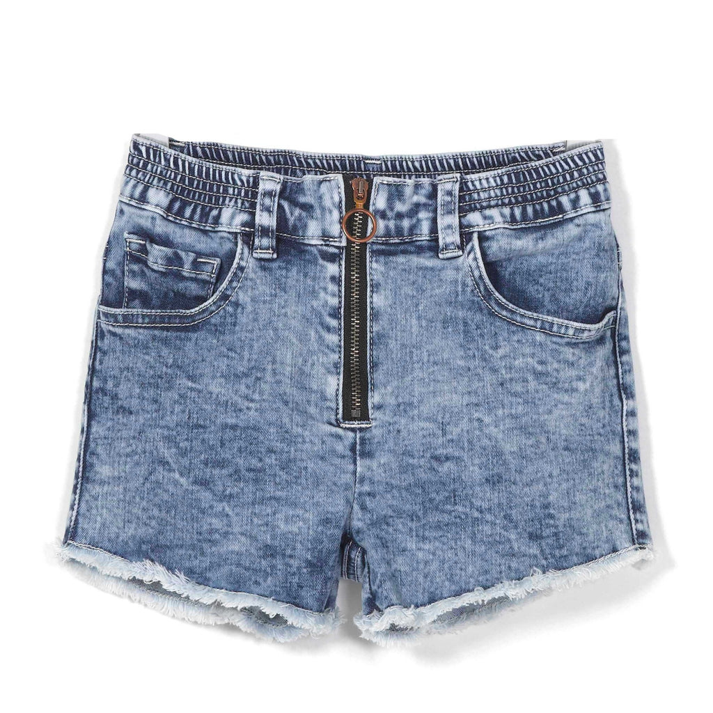 andorine new spring summer girls collection denim shorts indigo - free fast shipping on all orders over $99 from kodomo