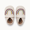 the bonnie mob rainbow appliqué baby shoe milk, fast free shipping on orders over $99 from kodomo boston
