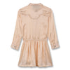 finger in the nose roseville long sleeve dress champagne