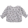 the new society sarah baby blouse soft blue flowers, fall winter new collections kids fashion, sustainable styles for babies at kodomo boston, free shipping