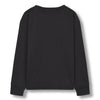 finger in the nose shine jersey tee-shirt ash black