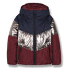 finger in the nose snowdance reversible down jacket burgundy, kodomo boston free shipping