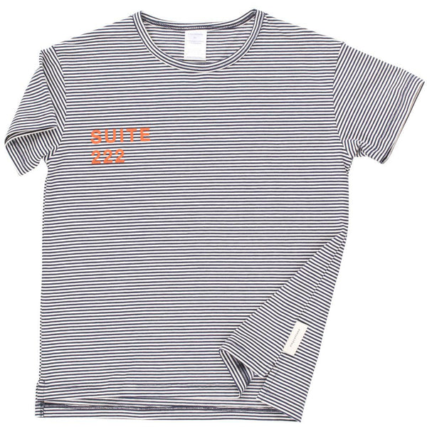 tinycottons graphic stripe t-shirt - kodomo