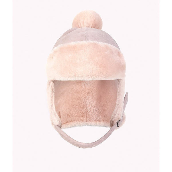 petit nord baby hat pale rose - kodomo boston