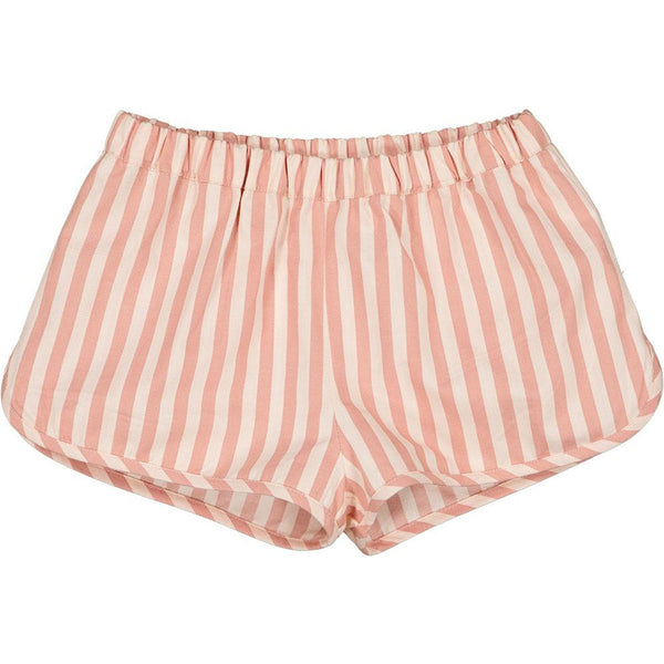 louis louise georginette short pink stripes, spring summer baby and kids collection at kodomo boston