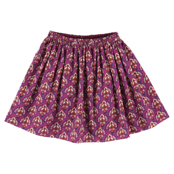 simple kids polis nahn skirt berry, free shipping kodomo boston