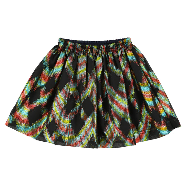 simple kids ginan skirt navy, free shipping kodomo boston