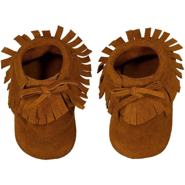 louis louise apache baby slippers cognac, babes boho shoes