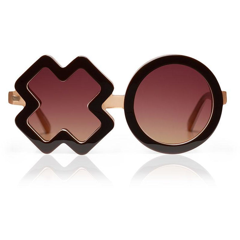 sons + daughters xo chocolate layer sunglasses - kodomo sunglasses - children's clothing in boston, sons+daughters - bobo choses, atsuyo et akiko, belle enfant, mamma couture, moi, my little cozmo, nico nico