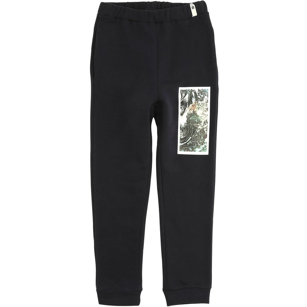 popupshop sweat pants navy/earth - kodomo