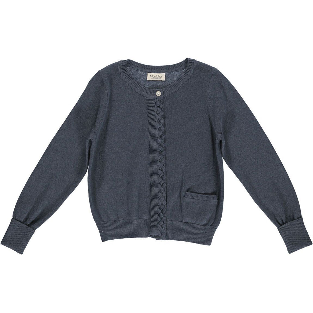marmar copenhagen new spring summer girls collection tilianna cardigan shaded blue - free fast shipping on all orders over $99 from kodomo