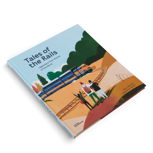 tales of the rails, kid's non-fiction train book