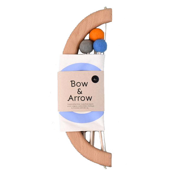 tangerine studio bow & arrow set blue