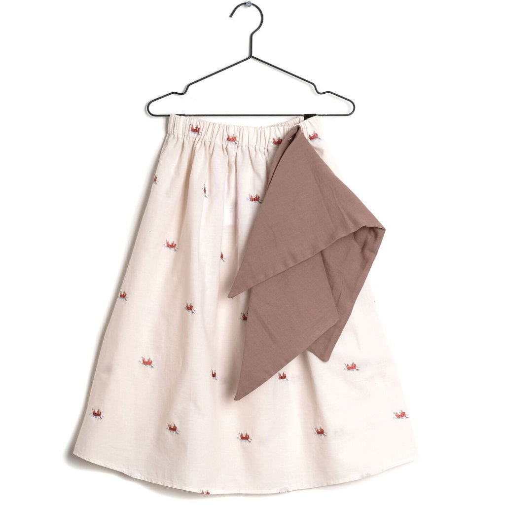 wolf & rita girls lurdes boats and roads skirt - free fast shipping on all orders over $99 from kodomo