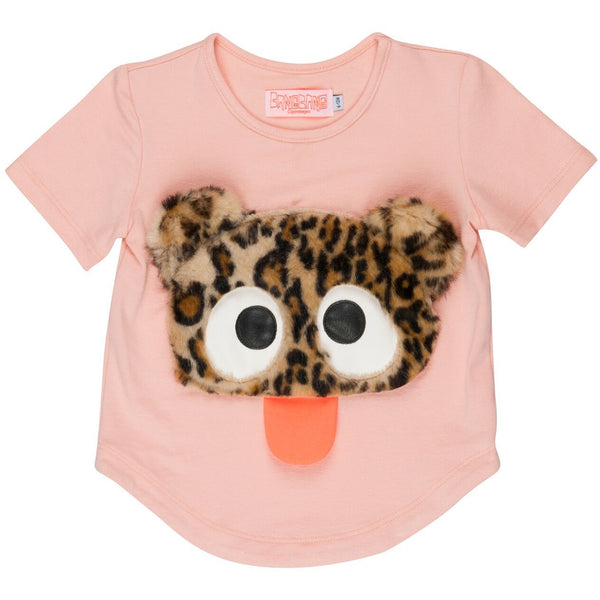 wauw capow by bangbang copenhagen new spring summer baby collection cute rebel t-shirt in pink - free fast shipping on all orders over $99 from kodomo