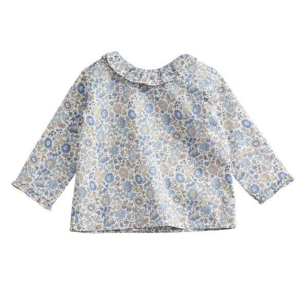 belle enfant ruffle collar blouse liberty d'anjo