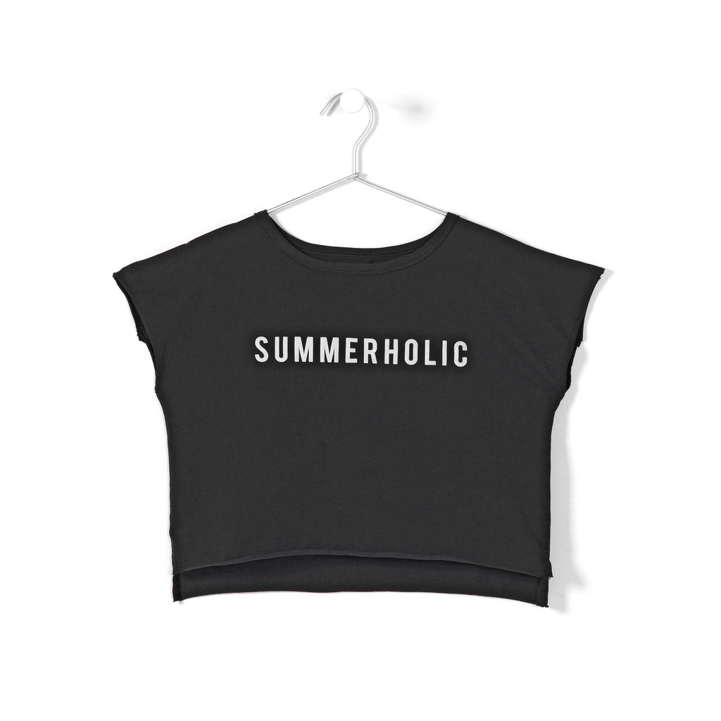 andorine new spring summer girls collection printed t-shirt black - free fast shipping on all orders over $99 from kodomo