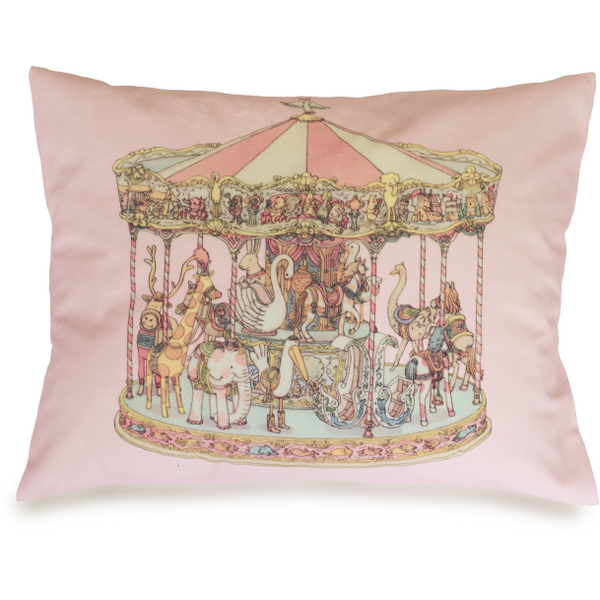 atelier choux velour carousel cushion, ethical and beautiful baby accessories and blankets made in france at kodomo boston, fast shipping.