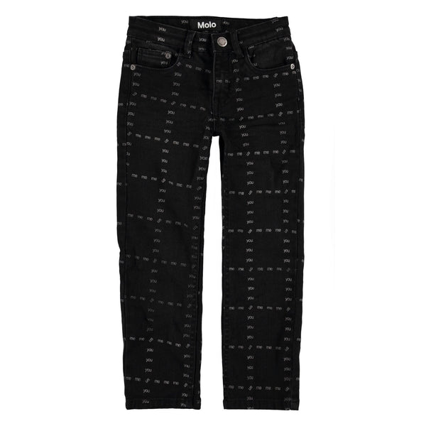 molo new fall kids collection alon woven pants black - free fast shipping all orders over $99 from kodomo