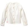 oilily boost embroidered blouse off white