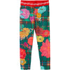 oilily taski jersey pants infinity rose check green, fw20 ethical fall fashion for kids at kodomo boston, free shipping