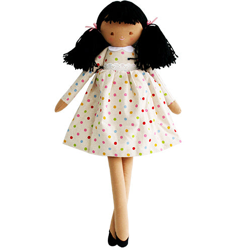 alimrose pippa doll gelati spot, kids cotton dolls