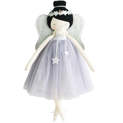 alimrose mia fairy doll lavender, kids cotton dolls